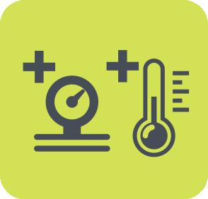1. Mayor Resistencia a Presión y temperatura