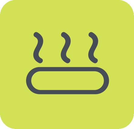 3. Baja Conductividad termica