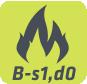 Clasificación al fuego B-s1,D0